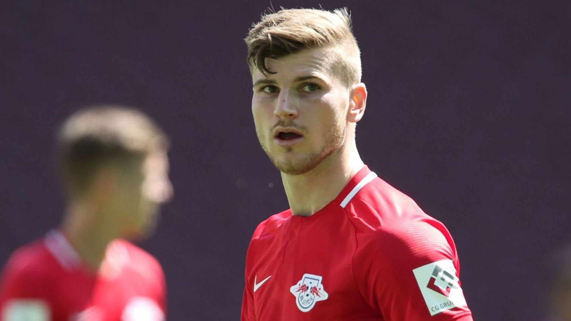 Bundesliga: Werner at double, Dortmund thumped