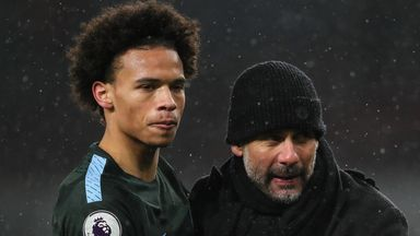 Guardiola wishes Sane well ahead of Bayern move