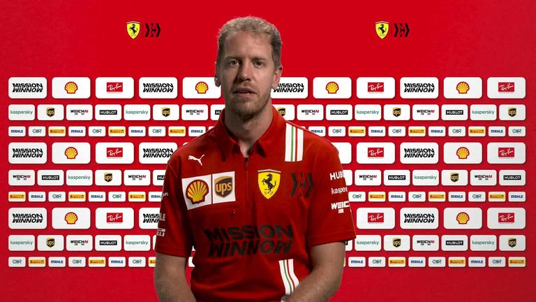 Ferrari's Sebastian Vettel on why he can't wait to get back racing at the Red Bull Ring