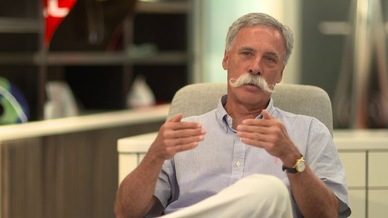 Formula One chief executive Chase Carey says races will not be cancelled once the 2020 season gets underway even if a driver or team member tests positive for coronavirus, with plans in place if the situation arises
