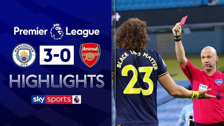 Arsenal's Bernd Leno stretchered off at Brighton