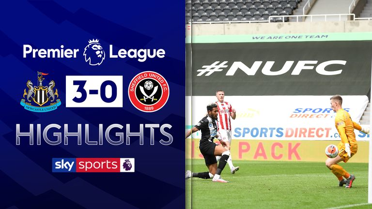 FREE TO WATCH: Highlights from Newcastle's win against Sheffield United