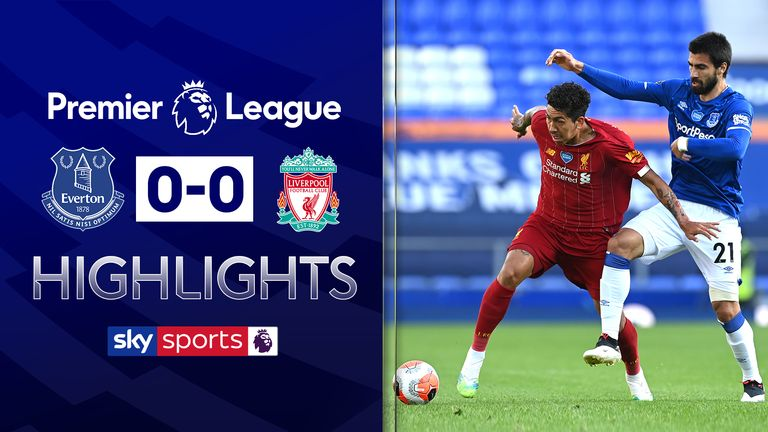 FREE TO WATCH: Highlights from Everton's draw with Liverpool