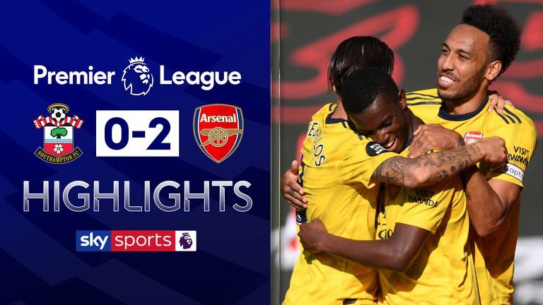 FREE TO WATCH: Highlights from Arsenal's win over Southampton in the Premier League