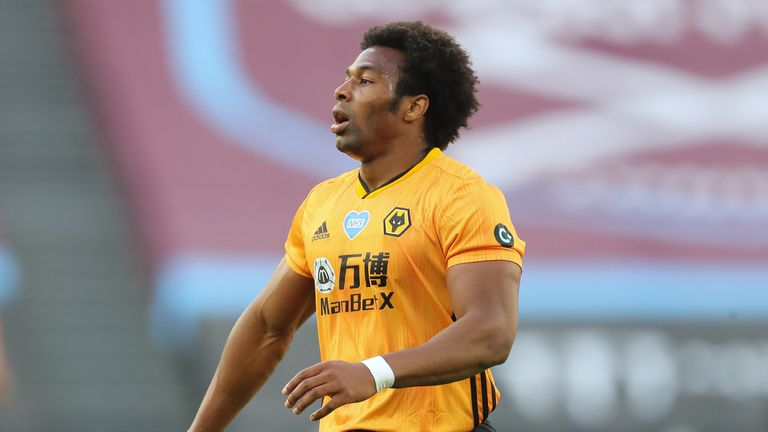 Adama Traore has contributed two assists in Wolves' three wins since the Premier League restarted