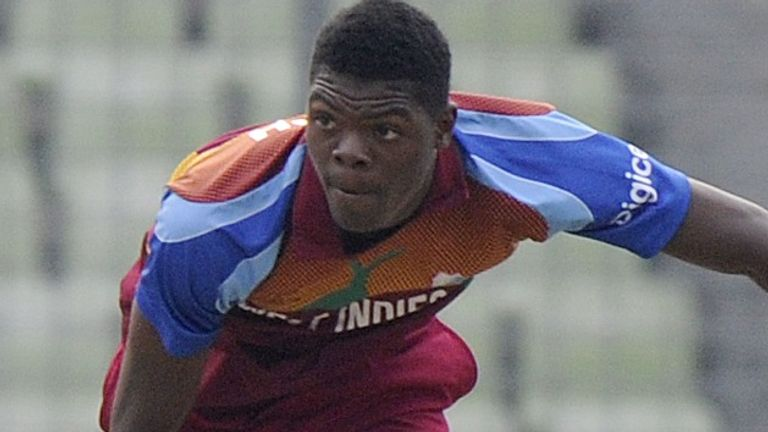 Joseph impressed for West Indies in the 2016 U19 World Cup