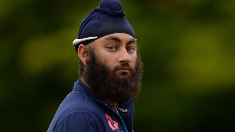 Amar Virdi and the British Asian community make up just 5.8 per cent of current men's county cricketers