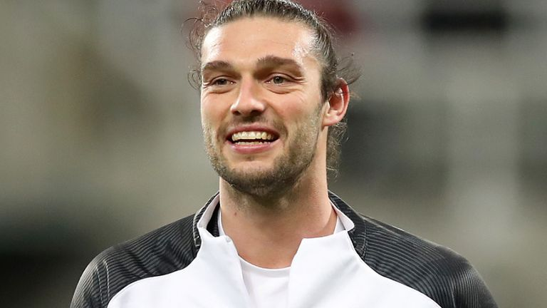 Andy Carroll has signed a one-year contract