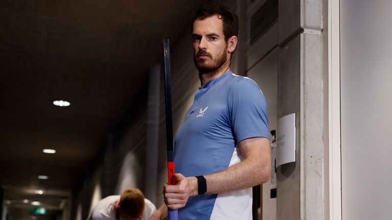 Andy Murray is looking forward to competing at the Grand Slams again