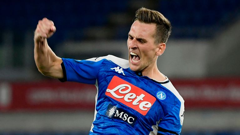 Is Napoli forward Arkadiusz Milik heading to Old Trafford?