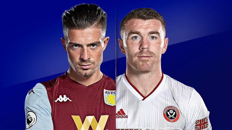 Watch Villa vs Sheff Utd live on Sky Sports Premier League and Main Event