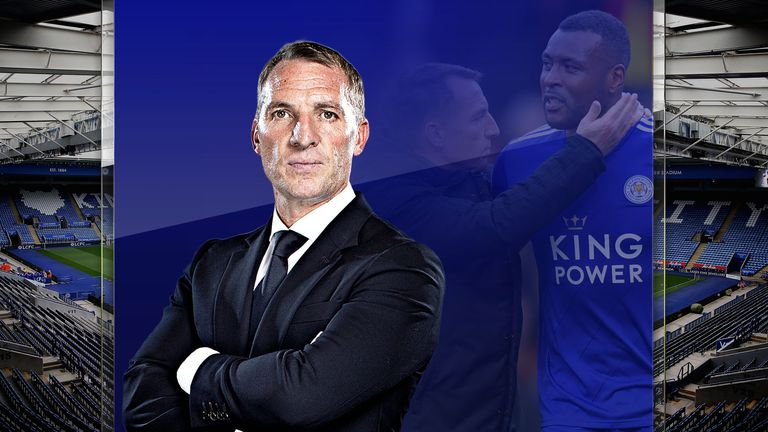 Brendan Rodgers discusses the leadership of Wes Morgan at Leicester City
