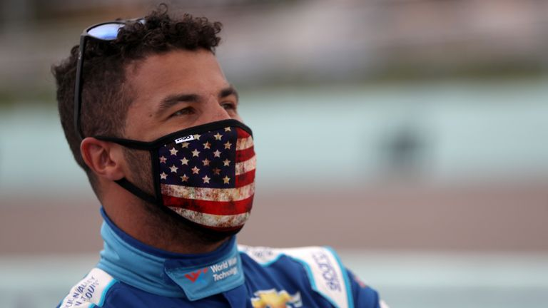 Bubba Wallace says it is 'a painful reminder of how much further we have to go as a society'