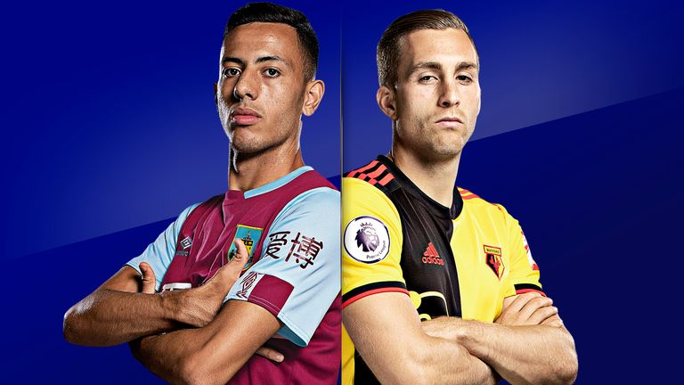 Burnley face Watford in their second game after the restart
