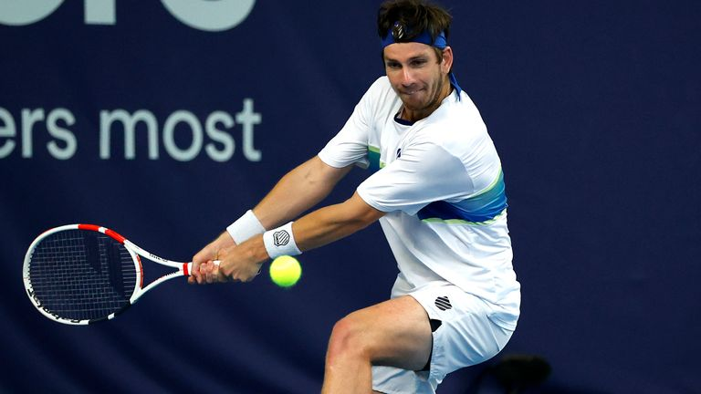 Cam Norrie beat James Ward in the third-place play-off