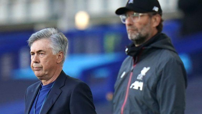Ancelotti says he congratulated Klopp before his side's Premier League title triumph
