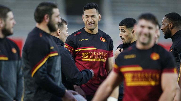 Catalans Dragons will return to training next week