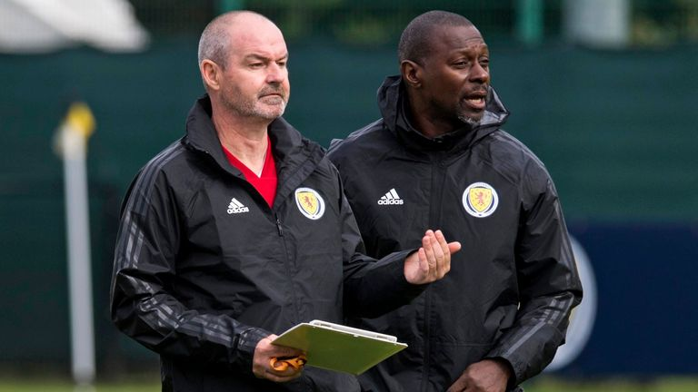Dyer and Steve Clarke worked together at Kilmarnock