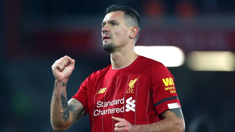Zenit St Petersburg are keen to sign Dejan Lovren