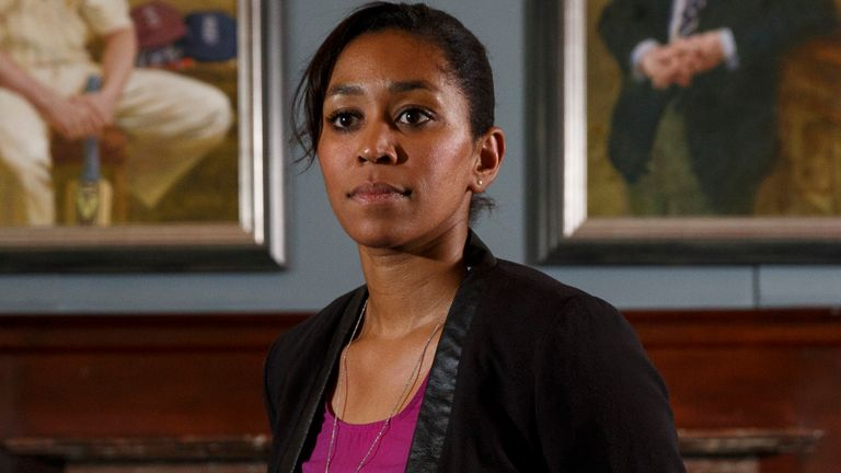 Ebony Rainford-Brent is the director of women's cricket at Surrey