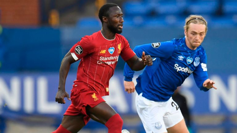 Naby Keita impressed for Liverpool at Goodison Park