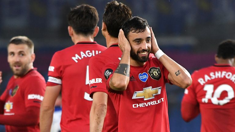 Bruno Fernandes has been the catalyst to United's improved form