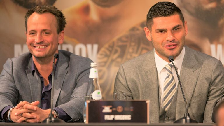 Nisse Sauerland says Hrgovic has considered a fight with Babic
