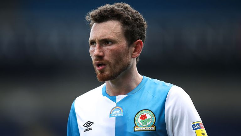 Corry Evans made a scoring return for Blackburn on Saturday