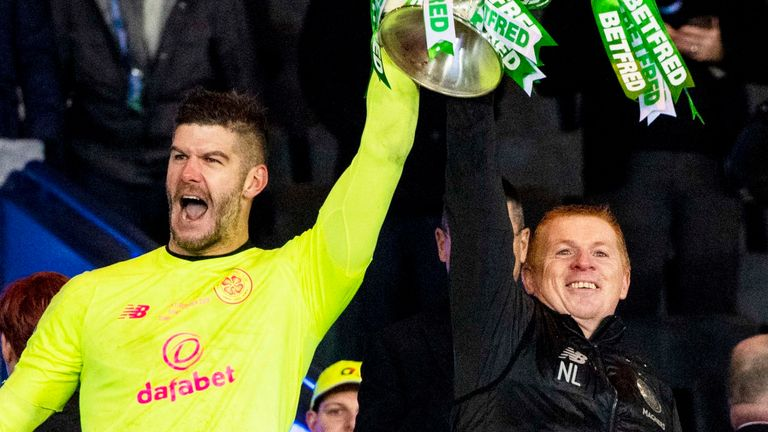 Neil Lennon is looking at new options for a goalkeeper after talks with Fraser Forster stalled