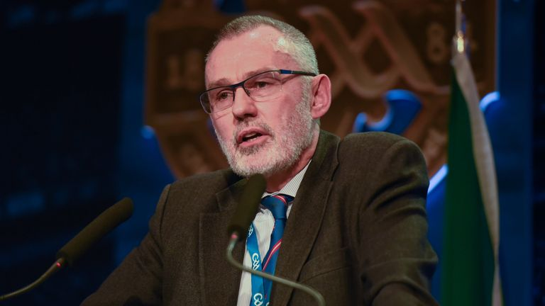 Larry McCarthy was elected at February's GAA Congress