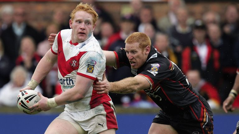 James Graham played for St Helens from 2003-2011