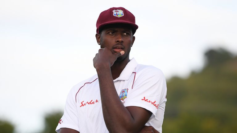 West Indies captain Jason Holder says his team will discuss making a possible stand during their Test series against England.