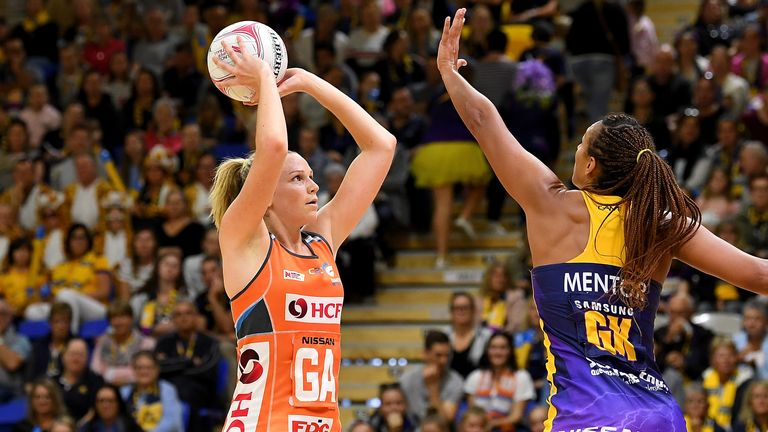 Jo Harten is one of the shooters who will be adapting to the new rule when Super Netball starts
