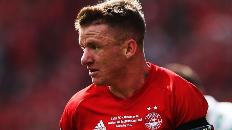 Jonny Hayes won the Scottish League Cup with Aberdeen in 2014