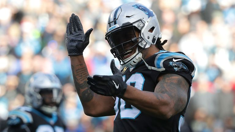 Julius Peppers is fourth on the NFL's all-time sacks list