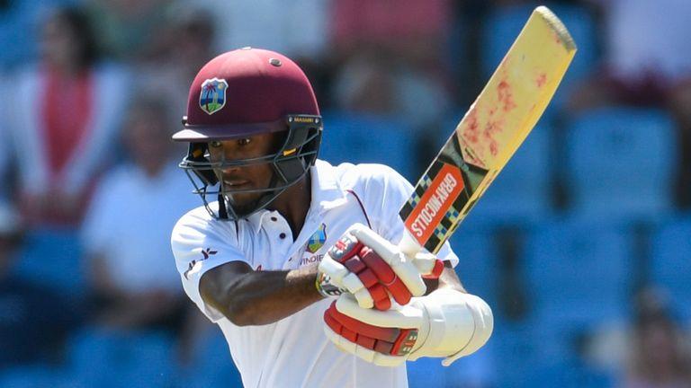 Kraigg Brathwaite has scored 607 runs against England in nine Tests at an average of 35.70