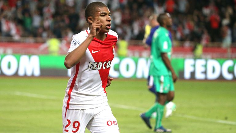 Kylian Mbappe held talks with Arsenal before agreeing to move from Monaco to Paris Saint-Germain
