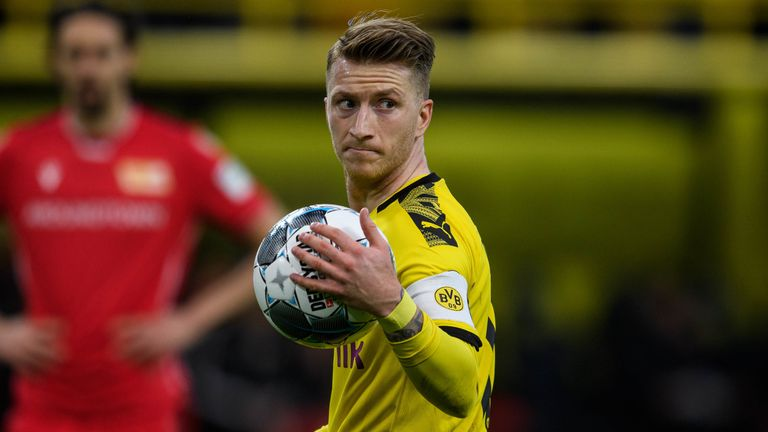 Arsenal have previously met with Marco Reus three times, according to his agent
