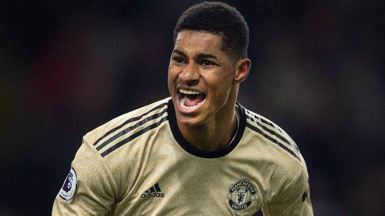 Marcus Rashford helped Manchester United to an 11-game unbeaten run before football was suspended due to coronavirus