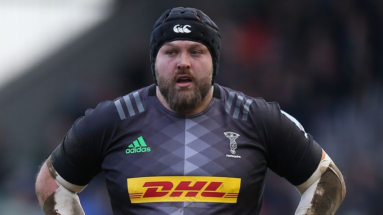 Harlequins prop Mark Lambert says the Rugby Players' Association cannot rule out strike action over the salary cut reduction