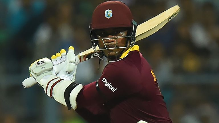 Samuels struck a crucial unbeaten 85 off 66 deliveries to help steer West Indies to victory