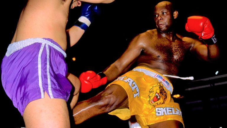 Skelton was successful in other combat sports before switching to boxing