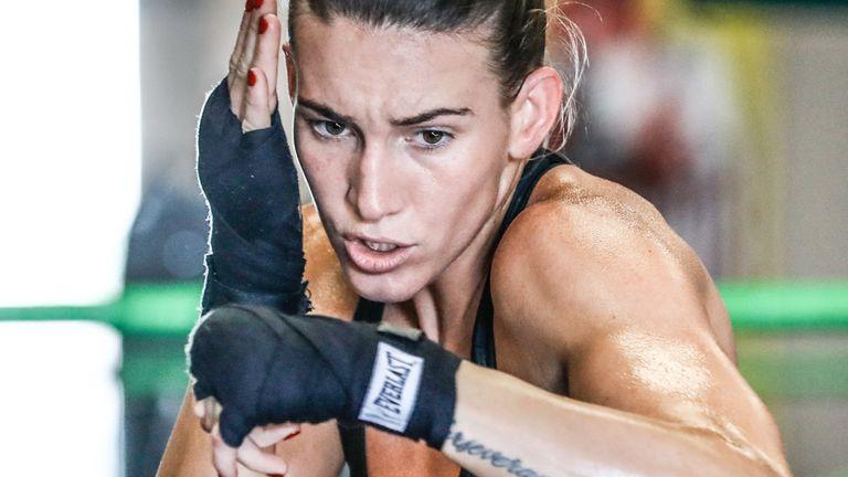 Mikaela Mayer tested positive for coronavirus