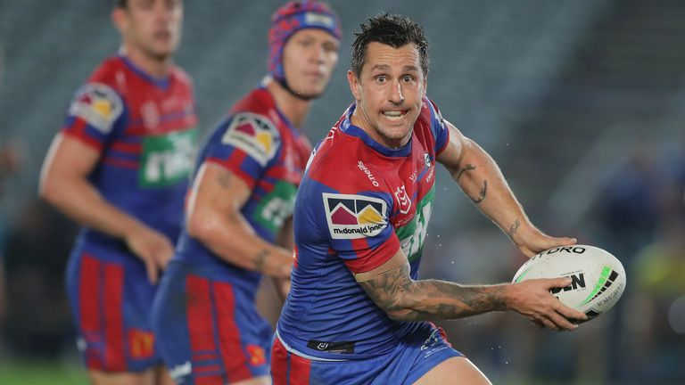 Newcastle's Mitchell Pearce has been linked with a return to the Roosters