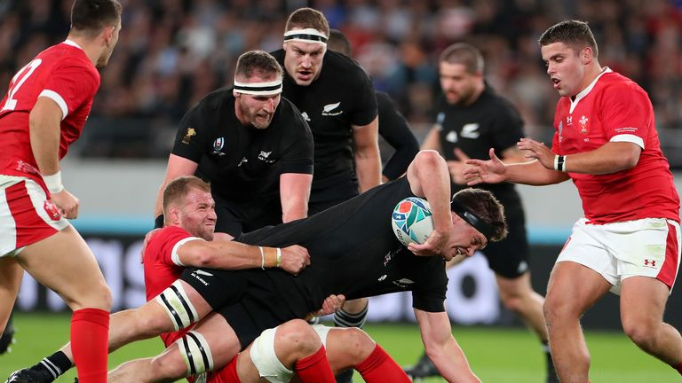 The All Blacks beat Wales 40-17 in the 2019 Rugby World Cup bronze match