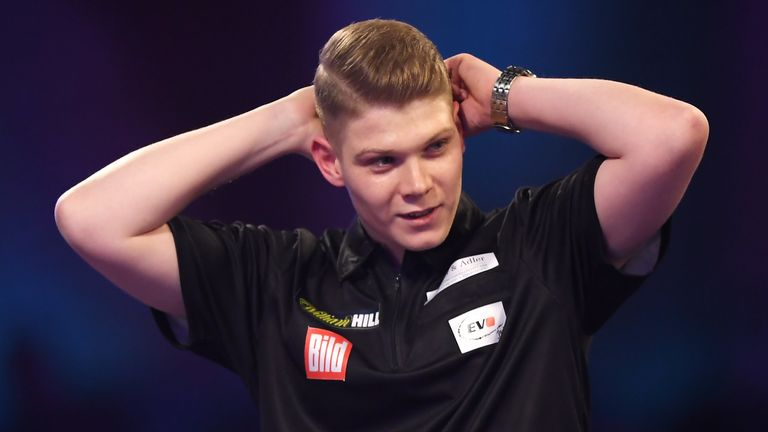Kurz sealed his spot at Ally Pally in dramatic fashion