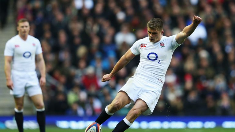Owen Farrell produced a 'coming of age' display against the All Blacks