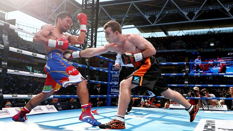 Promoters Arum and Lonergan arranged Pacquiao vs Horn at Brisbane's Suncorp Stadium