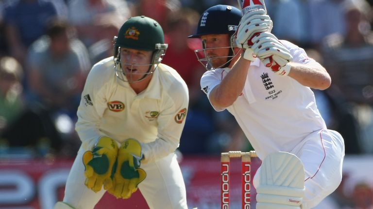 Paul Collingwood's obdurate knock helped England earn a draw