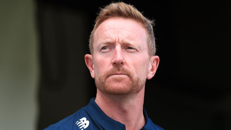 Paul Collingwood will coach England in the ODI series against Ireland